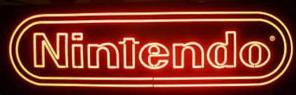 Nintendo neon sign up for auction, DS Fanboy contemplates purchase