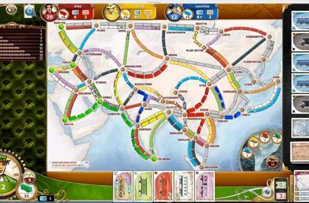 'Legendary Asia' DLC map available for Ticket to Ride iPad, Steam