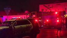 Fire sends 3 people to hospital in Las Vegas