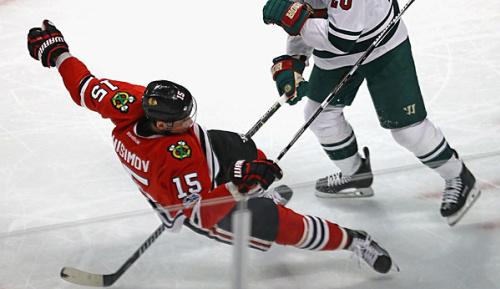NHL: Blackhawks: Wochenlange Pause für Anisimov