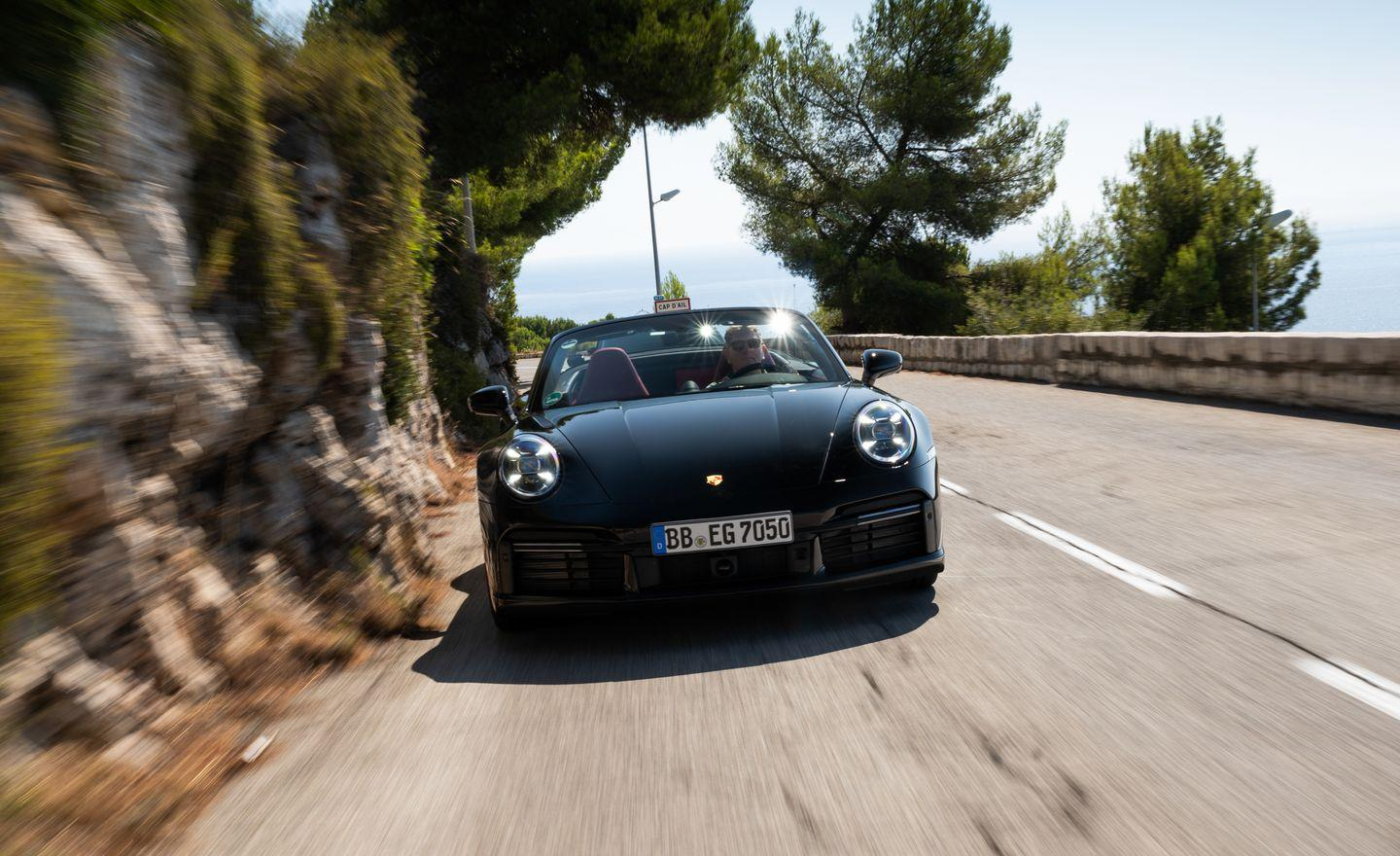 <p>This 992-generation car is the most powerful Porsche 911 Turbo S model ever. At 641 horsepower, the all-wheel-drive 911 should hit 60 mph in about 2.5 seconds. </p>