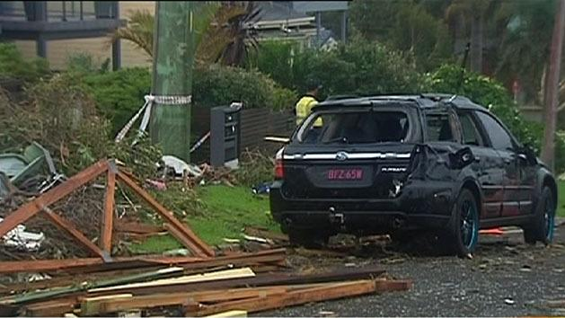 Fierce storms batter the nation