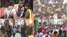 Has Coronavirus Left India? Crowds of Diwali Shoppers are Leaving Us Anxious