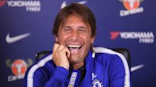 """Chelsea boss Antonio Conte laughs off Diego Costa's claim that he has been treated like """"a criminal"""""""