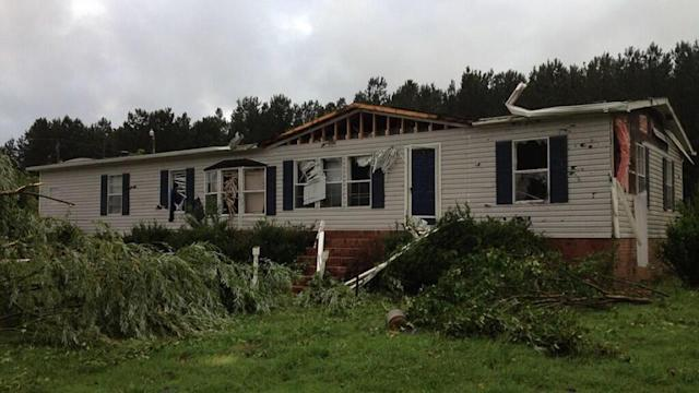 Possible tornado damage reported in Franklin County