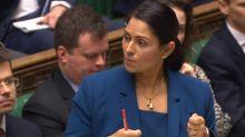 'I feel sick': Labour MP criticises Priti Patel for 'silencing' black colleague