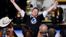 Elon Musk said he was 'overcome with emotion' over SpaceX launch and the task of bringing astronauts home: 'I'm getting choked up, I'm sorry.'