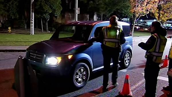 Law enforcement steps up crackdown on DUI drivers