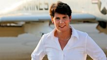 Fighter pilot Amy McGrath fought against Al-Qaeda. Her new mission is to unseat Sen. Mitch McConnell