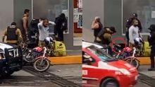 Indignante: Policía en México siembra droga a repartidor de comida; y mientras la delincuencia...