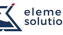 Element Solutions Inc Announces Share Purchases by Company and Executive Chairman