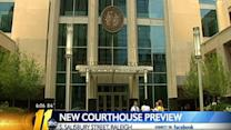 Public preview of new Wake County Justice Center