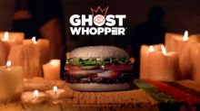 The BURGER KING® Brand Feeds Its New Ghost WHOPPER® Sandwich to the Dead