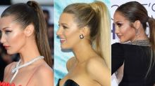 How To Nail A Super Sleek Ponytail By Kim K's Hairstylist Chris Appleton