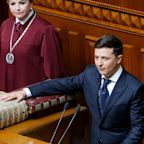 Ukraine's Zelenskiy calls early elections as he disbands parliament in first act as president