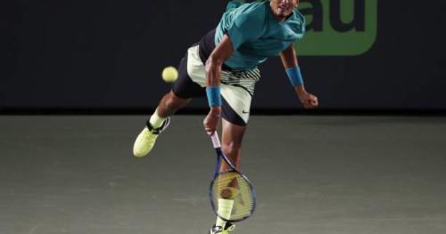 Tennis - ATP - Miami - Nick Kyrgios se qualifie en deux temps à Miami