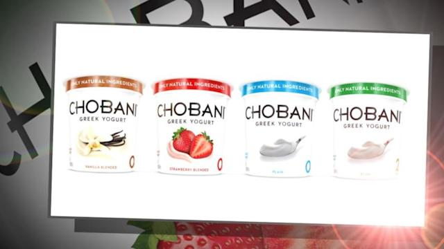 Chobani Greek Yogurt Accused of Stealing Competitor's Recipe
