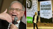 How $100 gave Perth woman a seat with Warren Buffett