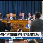 Judge Andrew Napolitano: Day one of impeachment hearings didn't change anyone's minds