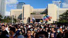 疫情下全球唯一同志大遊行在台北 13萬人上街爭取真正平權