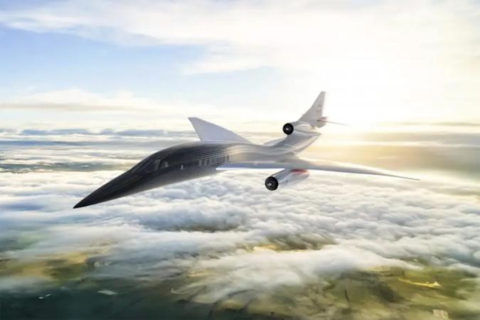 Aerion AS2 quiet supersonic business jet