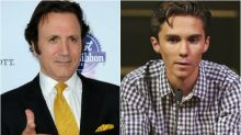 Frank Stallone Says 'P—y' David Hogg Deserves a 'Sucker Punch,' Twitter Punches Back