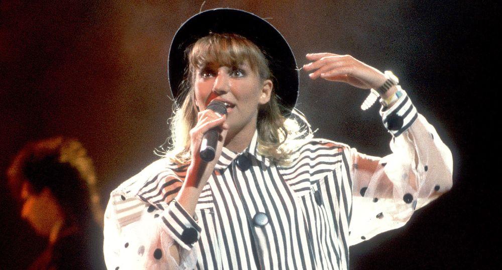 Debbie Gibson performing in 1988.