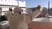 Pope Benedict acknowledges novelty of resignation