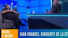 """El cruce entre Juan Grabois y Luis Novaresio por el papa Francisco: """"Si querés hablá vos solo"""""""
