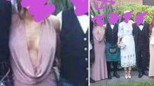 Anzüglich oder sexy? Kleid eines Hochzeitsgastes wird im Internet diskutiert