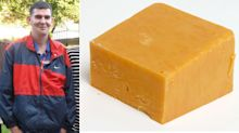 Caught Red (Leicester) handed! Burglar snared after leaving DNA on piece of CHEESE