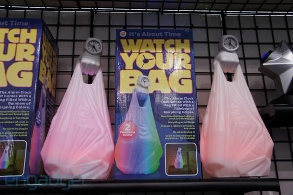 Crapgadget CES 2012, round one: Watch your Bag