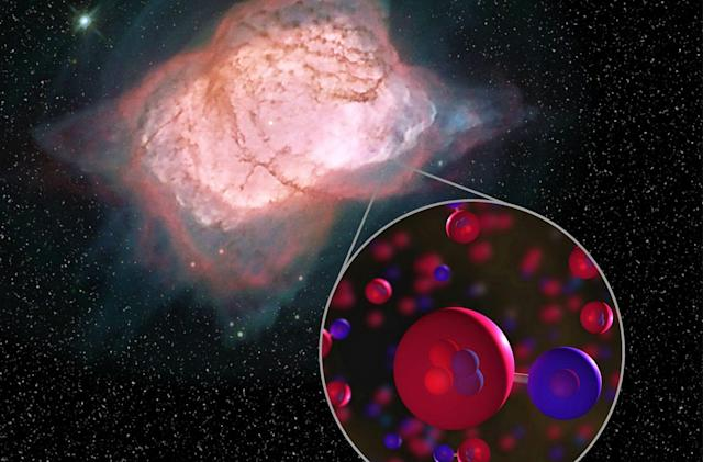 NASA finally found evidence of the universe's earliest molecule