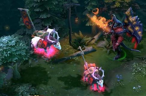 DotA 2 pink war dog courier sells for $38,000