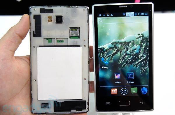 Jetway, maker of motherboards, is prepping its first smartphone, the Alfar 560