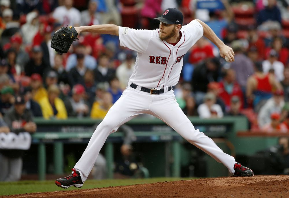 Chris Sale led all of MLB in strikeouts this season. (AP)