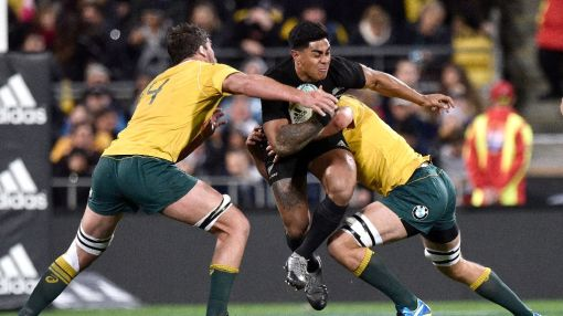 Douglas says he wasn't eye-gouged by All Black