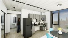 Cómo los contenedores de transporte se están convirtiendo en viviendas para personas sin hogar