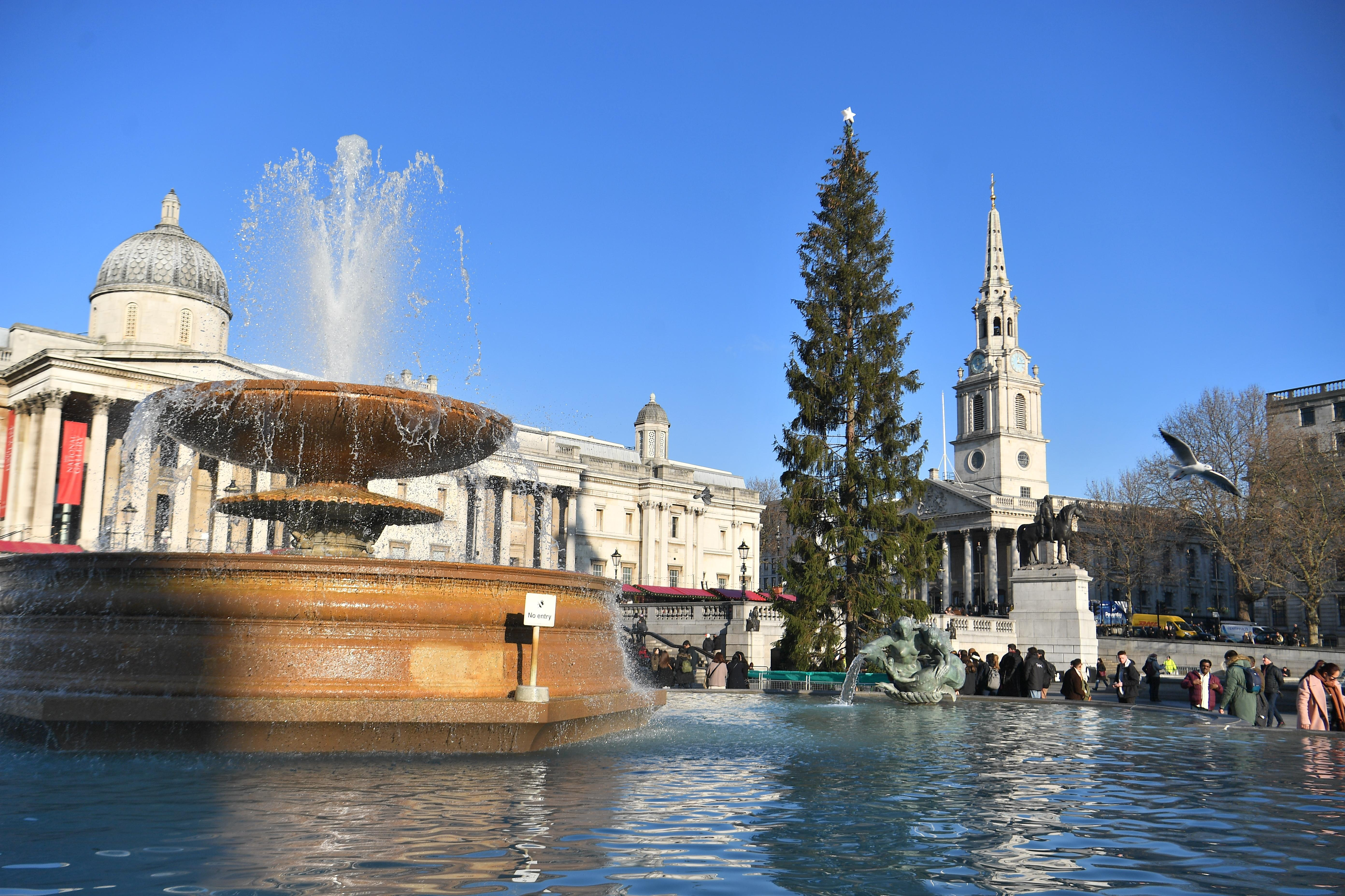 Trafalgar Square Christmas market criticised for being an 'assembly of tat'
