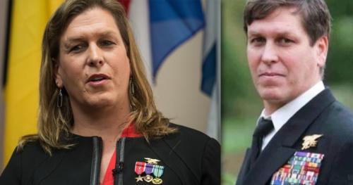 Transgender former U.S.Navy SEAL Senior Chief Kristin Beck