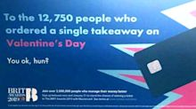 'Patronizing' ad accused of shaming people who are single on Valentine's Day