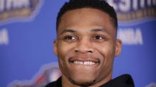 Russell Westbrook responded to Kevin Durant questions by talking about fashion