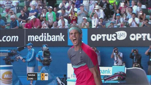 Australian Open: Nadal survives scare to progress