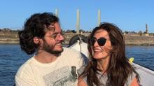 """Fátima Bernardes compartilha momento romântico com Túlio Gadelha: """"Ficam as lembranças"""""""
