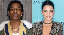 A$AP Rocky Attends Kanye West's Sunday Service with Kendall Jenner After Release From Jail