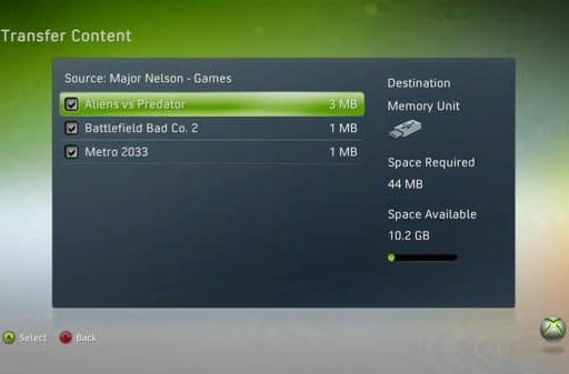 USB mass storage support coming to Xbox 360 on April 6th