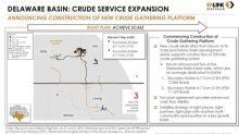 EnLink Midstream to Build New Delaware Basin Crude Oil Gathering System