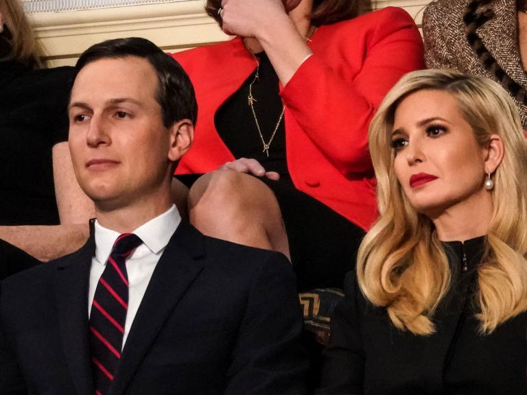 Ivanka Trump denies president issued security clearances for her or husband Jared Kushner