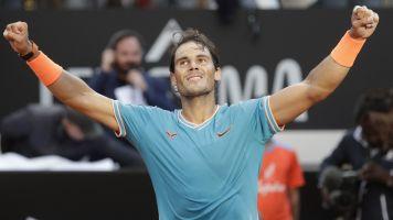 Nadal beats Djokovic to win ninth Rome trophy
