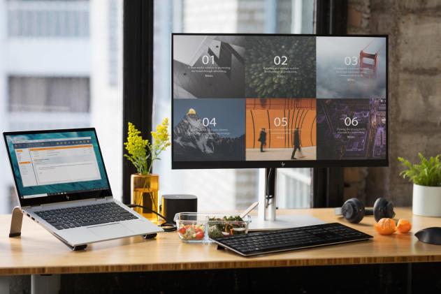 HP's latest monitors cut blue light levels to help you sleep